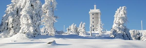 Silvester im winterlichen Harz