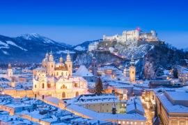 Salzburg im Winter JFL Phptpgraphy - Fotolia