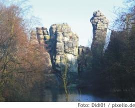 Silvester Teutoburger Wald/Externsteine