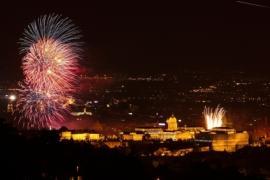 Feuerwerk Budapest
