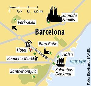Ihr Hotel in Barcelona