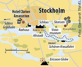 Ihr Hotel in Stockholm