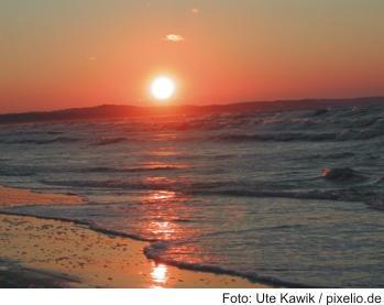 Ostsee im Sonnenlicht